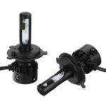 New Mini8 Car LED Headlights Bulbs Fog Lamps H1 H4 H7 H8/H9/H11 9005 9006 6000K White 2PCS