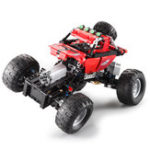 New Doublee CaDa Off-road Climbing Car Technology Machinery Group Remote Control Assembly Blocks Toys