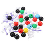 New 100Pcs Chemistry Bats Type Molecular Model Kit and Organic Chemistry Atom Bonds Medical