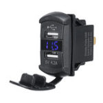 New USB Charger For Polaris UTV RZR RZR4 Ranger XP 1000 900 800 Crew 2015 2016