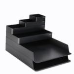 New NUSIGN NSYP001 Desktop Storage Box Set Office Desktop Organizer School Supplies Storage Cosmetics Holder Kitchen Tray