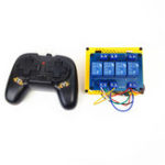 New Small Hammer 2.4G 4CH Controller Transmitter Module For RC Robot Tank Car Boat