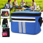 New 5L Picnic Bag Thermal Cooler Insulated Lunch Bag Food Container Pouch Outdoor Camping