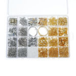 New Jewelry Findings Starter Kit Jewelry Beading Making and Repair Tools Kit Beads Wire Starter Tool
