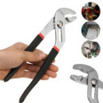 New 6/8/10/12 Inch Water Pump Pliers Plumbers Slim Jaw Pipe Wrench Grips Multifunction
