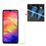 New Bakeey™ Anti-explosionTempered Glass Screen Protector + 2 PCS Phone Lens Protector for Xiaomi Redmi Note 7 / Note 7 Pro