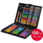 New KIDDYCOLOR 130 Practical Watercolor Paint Crayon Art Suit For School
