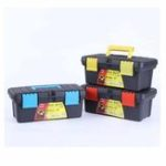 New Double-layer Multi-function Paint Box Thickening Tool Box Painting Box 10 Inch