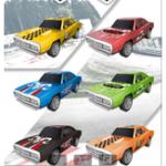 New 6Pcs BURST Crash Racing Car Multi-pattern Pullback Collision Function Elegant Model Assembled Novelties Toys