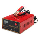New 12/24V 10A 140W Car Motorcycle Lead Acid Red Battery Charger Full Automatically