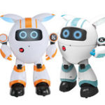 New JJRC R14 KAQI-YOYO 2.4G Smart RC Robot Programmable Sing Tell Story Shining light Robot Toy