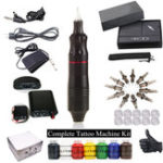 New D3017 Complete Tattoo Kit Motor Pen Machine Tattoo Machine
