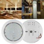 New 12V 9W 6500K 42pcs LED Ceiling Light For Caravan/Motorhome/Trailer/Boat/Lorry