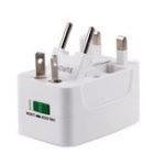 New All in One Universal International Plug Adapter 2 USB Port World Travel AC Power Charger Adaptor with AU US UK EU Converter Plug
