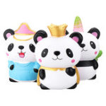 New Panda Squishy Kawaii Animal Family Slow Rising Rebound Jumbo 24cm Toys Gift Decor