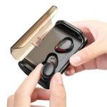 New Bakeey T8 TWS Wireless bluetooth 5.0 Earphone HiFi Noise Cancelling Bilateral Call IPX6 Waterproof Headphone with 3000mAh Charging Box