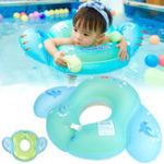 New Outdoor Baby Float Swimming Ring Kids Inflatable Infants Swim Trainer Pool Water Fun Toy