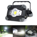 New Portable USB COB LED Camping Lantern Lamp Outdoor Work Light Flashlight Waterproof Spotlight
