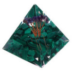 New Himalayas Stone Orgone Pyramid Energy Generator Tower Home Reiki Healing Crystal Decorations
