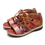 New Women's Leather Sandals Flat Shoes Summer Shoes Comfortable Flat Shoes Platform