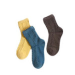 New Women's Wool Socks Thickening Breathable Keep Warm Casual Sports Socks Mid Stockings