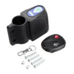 New 10M Wireless Alarm Lock Bike Motorcycle Security System Remote Control Anti-Thef