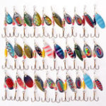 New ZANLURE 30pcs Kinds of Fishing Lure Crankbaits Hooks Spinner Baits Assorted Tackle