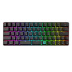 New GK66 USB-C Wired Split-Spacebar Hot-swappable Gateron Optical Switch RGB Mechanical Gaming Keyboard