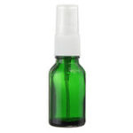 New 15/30/50ml Mini Green Spray Bottle Sprayer Refillable Container w/ Drop & Spray for Aromatherapy Perfume Essential Oi Travel