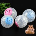 New  2 Size Breathable Clear Ball Without Bracket Hamster Toy Pet Toys Small Running Ball Plastic for Small Pets