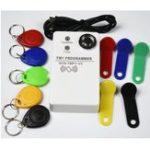 New TM RFID Reader Copier Duplicator handheld RW1990 TM1990 TM1990B ibutton DS-1990A I-Button 125KHz EM4305 T5577 EM4100 TM card Reader