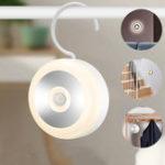 New Bakeey PIR Motion LED Sensor Night Light Rechargeable Lamp