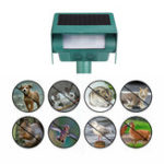 New Solar Ultrasonic Vibrating Rodent Mole Solar Snake Repeller Sonic Wave Gopher Repeller Vole Cha-ser Deterrent Animal Repeller