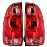 New Car Rear Tail Light Assembly Brake Lamp with No Bulb Left/Right for Toyota Tacoma Pickup 2005-2015