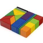 New XIAOMI MITU 20PCS Magnetic Wooden Blocks Toys Puzzle Jigsaw Kids Educational Gift