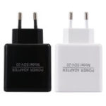 New EU 5V 2.4A Dual USB Charger Power Adapter Intelligent Recognition For Smartphone Tablet PC
