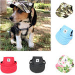 New  Summer Pet Dog Cute Print Cap Baseball Hat Small Dog Outdoor Hat Baseball Cap Pet Grooming Dog Hat Pets Accessories For Dogs Cats