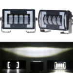 New Car Work Headlights Waterproof Off Road Lamp Boat Accessories LED Bar Truck Driving SUV Fog Lights