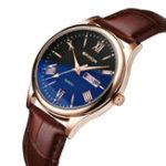 New SANDA 213 Classic Men Luminous Quartz Watch