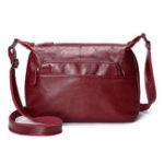 New Women Genuine Leather Multi-pockets Crossbody Bag