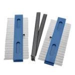 New Drillpro 2 in 1 2x200mm Contour Gauge Profile Copy Gauge Duplicator Wood Marking Tool Tiling Laminate Tiles Tools