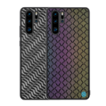 New NILLKIN Woven Polyester Mesh Reflective Anti-fingerprint Protective Case for HUAWEI P30 Pro 2019