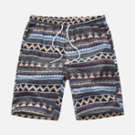 New Mens Summer Beach Floral Printed Hawaiian Casual Shorts