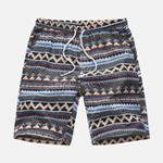 New Mens Summer Beach Floral Printed Hawaiian Casual Shorts