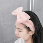 New XIAOMI Jordan&Judy Adjustable Hair Band Make Up Skin Care Soft Elastic Headwear Home Office Travel