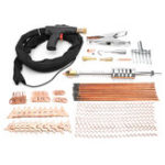 New 78Pcs Dent Puller Kit Car Body Spot Repair Tool Device Welder Stud Weld Welding Cabl