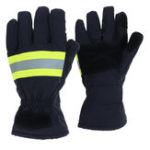 New Fire Proof Protective Work Gloves Reflective Strap Fire Resistant Anti-static Safety Gloves for Firefighter