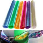 New 30x120cm Chameleon Car Light Film Headlight Tail Cover Tint Change Sticker