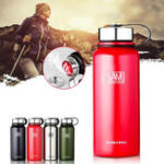 New 1500ml Outdoor Portable Vacuum Insulated Water Bottle Double Walled Stainless Steel Drinking Cup Sports Travel
