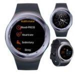 """New KALOAD Y1 PLUS 1.54"""" IPS Screen Smart Watch Heart Rate Blood Pressure Monitor Fitness Sport Bracelet"""